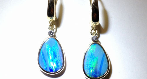 Opal Earrings Two